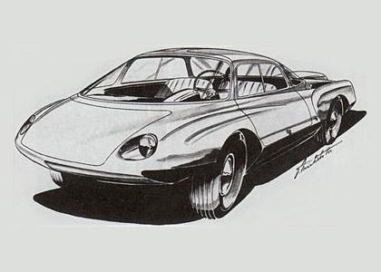Vignale-Abarth-750-Goccia-sketch2